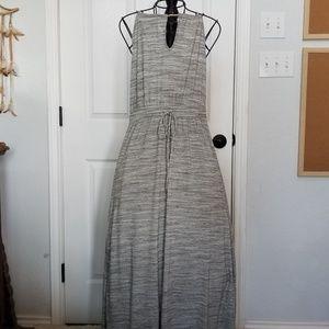 Banana Republic gray knit maxi dress sz. M